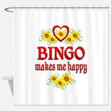 Bingo Happiness Shower Curtain