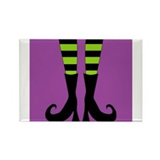 Halloween Witch Feet Magnets