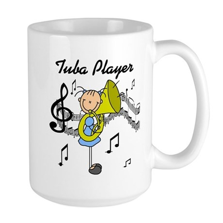 Tuba Player Large Mug