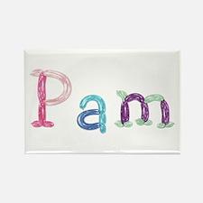 Pam Princess Balloons Rectangle Magnet