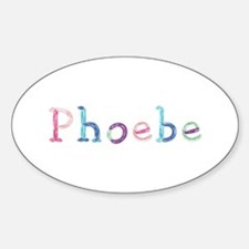 Phoebe Princess Balloons Oval Decal