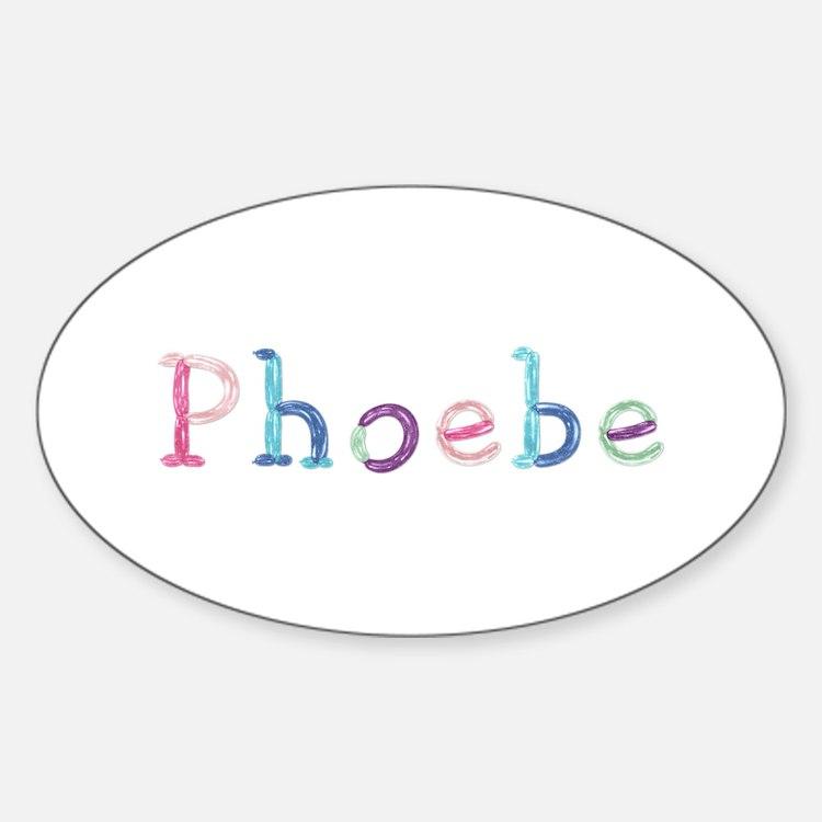Phoebe Princess Balloons Oval Decal
