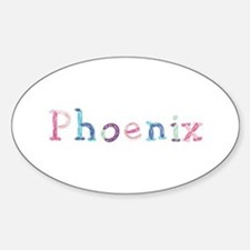 Phoenix Princess Balloons Oval Decal