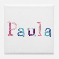 Paula Princess Balloons Tile Coaster