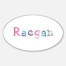 Raegan Princess Balloons Oval Decal