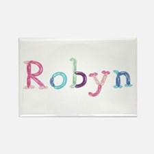 Robyn Princess Balloons Rectangle Magnet