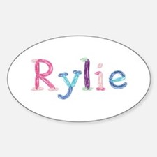 Rylie Princess Balloons Oval Decal