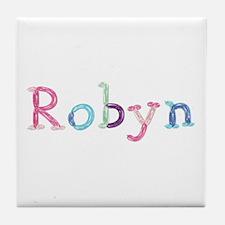 Robyn Princess Balloons Tile Coaster