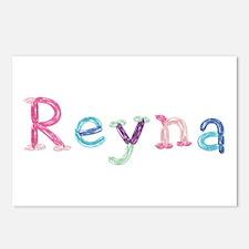 Reyna Princess Balloons Postcards 8 Pack