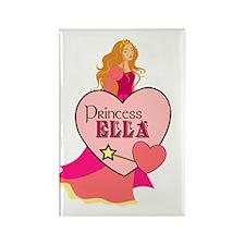 Princess Ella Rectangle Magnet