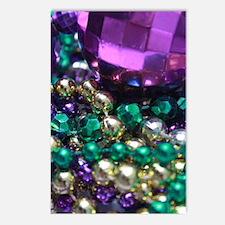 Mardi Gras Purple Krewe Postcards (Package of 8)