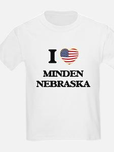 I love Minden Nebraska T-Shirt