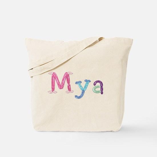 Mya Princess Balloons Tote Bag