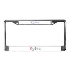 Rylee Princess Balloons License Plate Frame