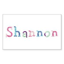 Shannon Princess Balloons Rectangle Decal