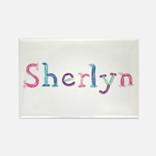 Sherlyn Princess Balloons Rectangle Magnet