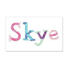 Skye Princess Balloons 20x12 Wall Peel