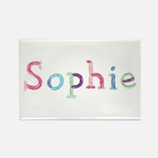 Sophie Princess Balloons Rectangle Magnet