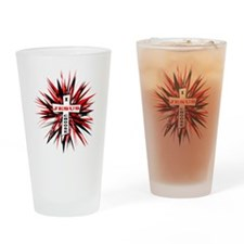 I Choose Jesus Drinking Glass