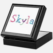 Skyla Princess Balloons Keepsake Box