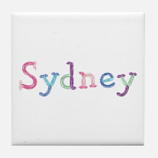 Sydney Princess Balloons Tile Coaster