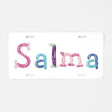 Salma Princess Balloons Aluminum License Plate