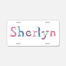 Sherlyn Princess Balloons Aluminum License Plate