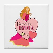 Princess Emma Tile Coaster