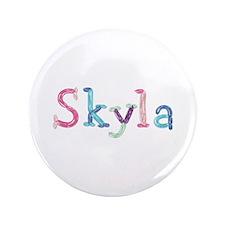 Skyla Princess Balloons Big Button