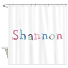 Shannon Princess Balloons Shower Curtain