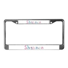 Shannon Princess Balloons License Plate Frame