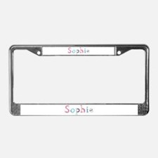Sophie Princess Balloons License Plate Frame
