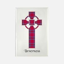 Cross - Inverness dist. Rectangle Magnet