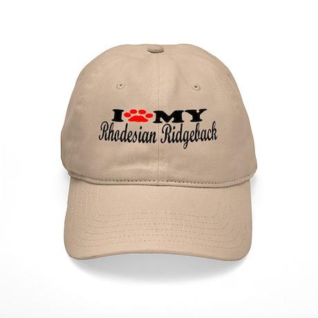 Rhodesian Ridgeback - I Love My Cap
