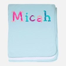 Micah Princess Balloons baby blanket