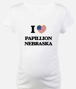 I love Papillion Nebraska Shirt