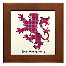 Lion - Inverness dist. Framed Tile