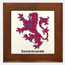 Lion - Inverness dist. Framed Tile