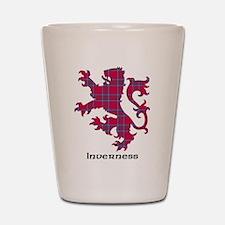 Lion - Inverness dist. Shot Glass