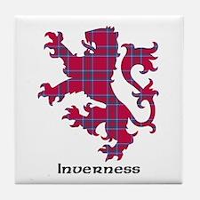 Lion - Inverness dist. Tile Coaster