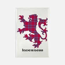 Lion - Inverness dist. Rectangle Magnet