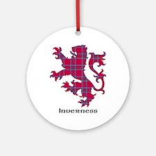 Lion - Inverness dist. Ornament (Round)