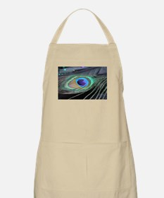 Peacock Feather Bright Apron