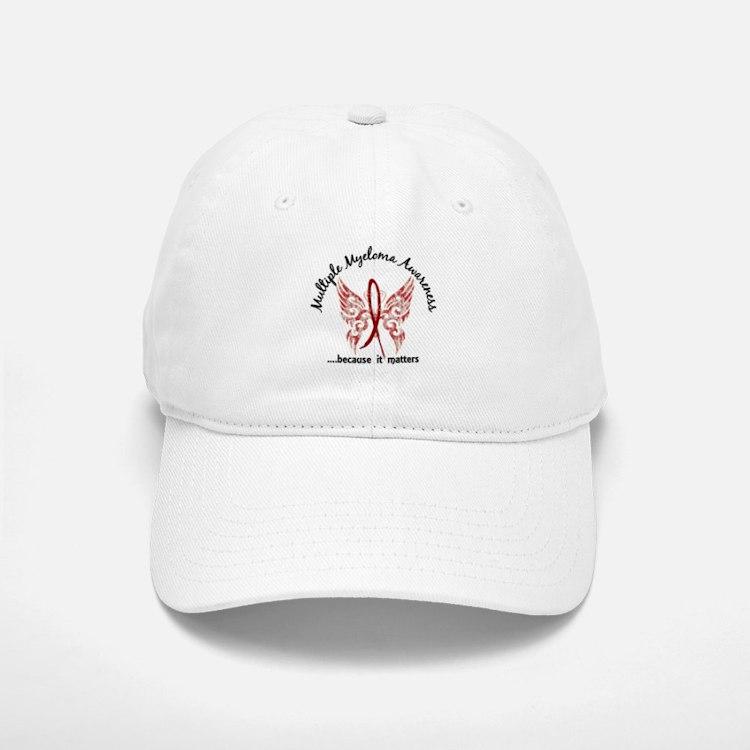 Multiple Myeloma Butterfly 6.1 Baseball Baseball Cap