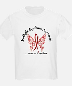 Multiple Myeloma Butterfly 6.1 T-Shirt