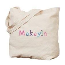 Makayla Princess Balloons Tote Bag