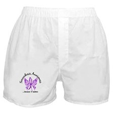 Sarcoidosis Butterfly 6.1 Boxer Shorts