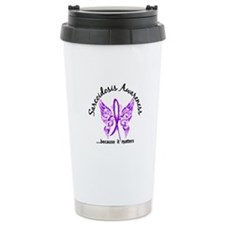 Sarcoidosis Butterfly 6 Travel Mug