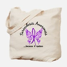Sarcoidosis Butterfly 6.1 Tote Bag