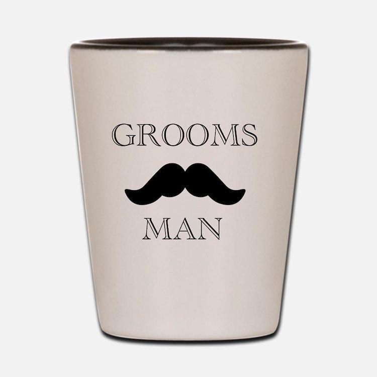 Goomsman_mustach Shot Glass
